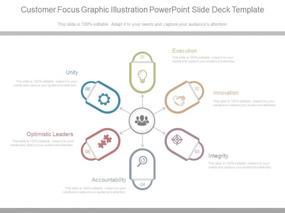 Customer Focus Graphic Illustration Powerpoint Slide Deck Template