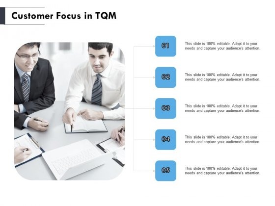 Customer Focus In TQM Ppt PowerPoint Presentation Infographic Template Deck