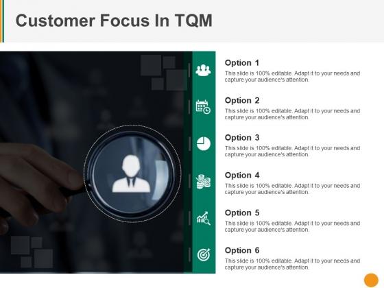 Customer Focus In Tqm Ppt PowerPoint Presentation Ideas Portrait