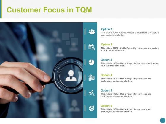 Customer Focus In Tqm Ppt PowerPoint Presentation Portfolio Graphic Images