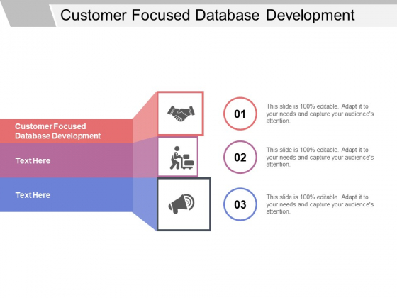 Customer Focused Database Development Ppt PowerPoint Presentation Pictures Good Cpb Pdf