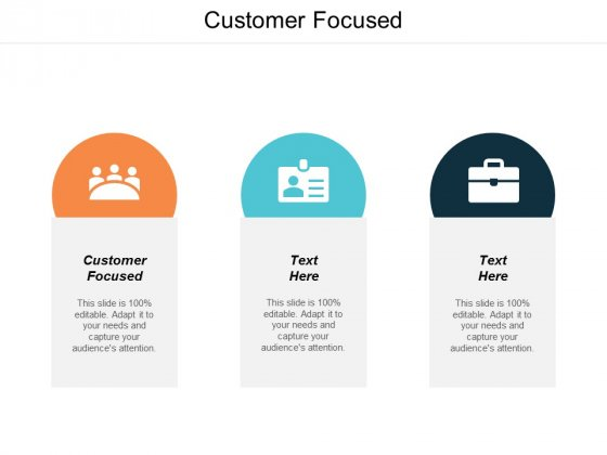 Customer Focused Ppt PowerPoint Presentation Model Microsoft Cpb