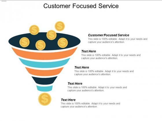 Customer Focused Service Ppt PowerPoint Presentation Tips Cpb