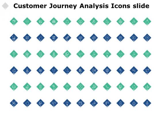 Customer Journey Analysis Icons Slide Management Ppt PowerPoint Presentation File Slide