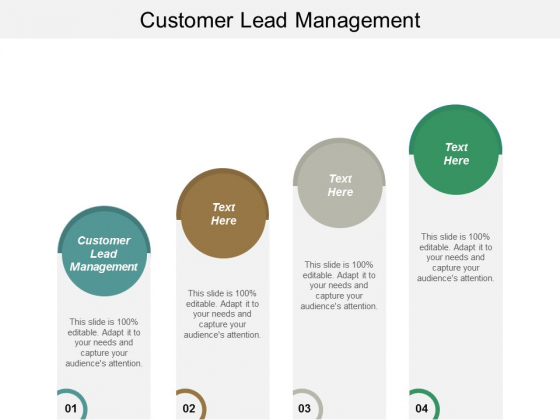 Customer Lead Management Ppt PowerPoint Presentation Portfolio Gallery Cpb