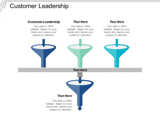 Customer Leadership Ppt PowerPoint Presentation Slides Icons Cpb