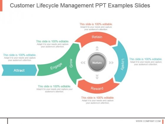 Customer Lifecycle Management Ppt Examples Slides