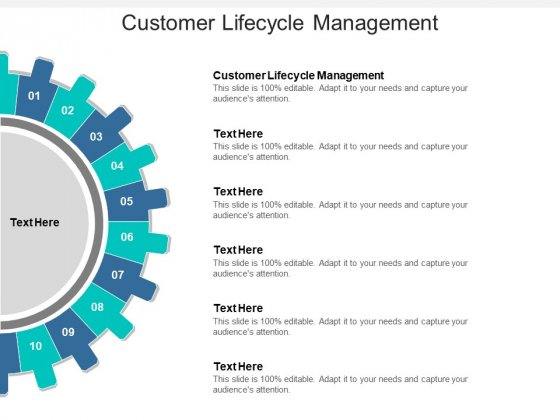 Customer Lifecycle Management Ppt PowerPoint Presentation Show Aids Cpb