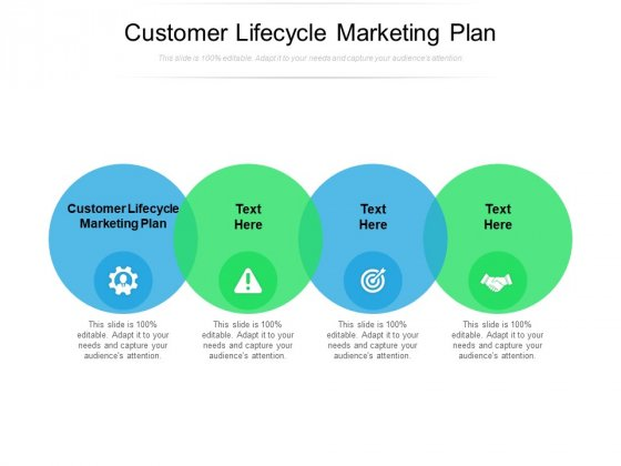 Customer Lifecycle Marketing Plan Ppt PowerPoint Presentation Professional Designs Download Cpb Pdf