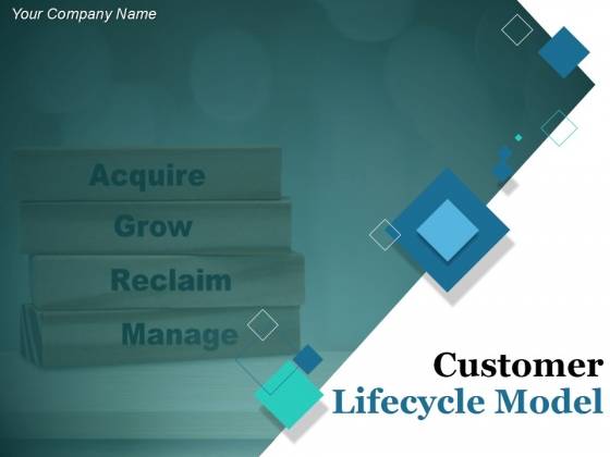 Customer Lifecycle Model Ppt PowerPoint Presentation Complete Deck With Slides