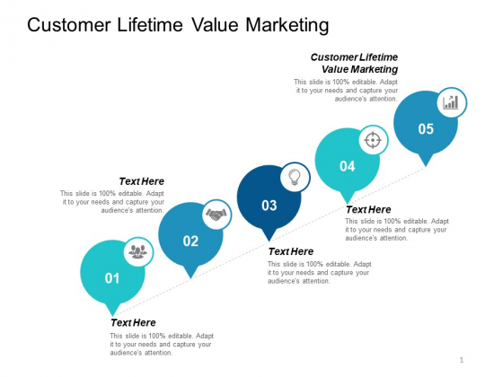 Customer Lifetime Value Marketing Ppt PowerPoint Presentation Icon Inspiration Cpb