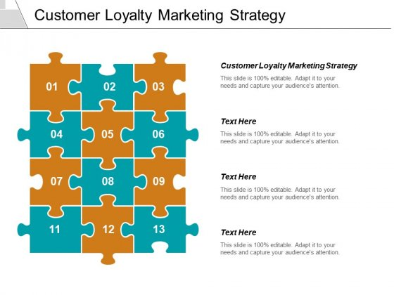 Customer Loyalty Marketing Strategy Ppt PowerPoint Presentation Summary Designs Download Cpb