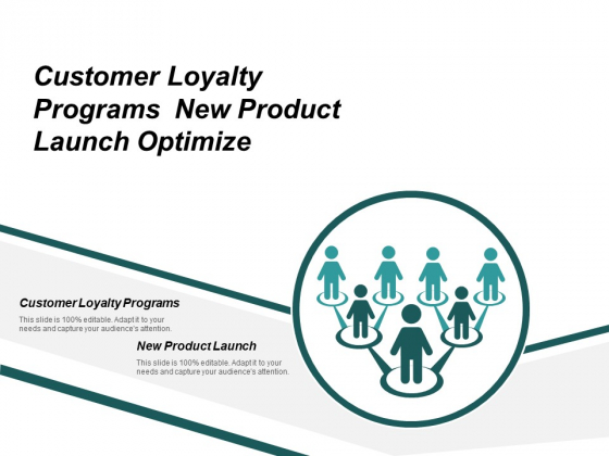 Customer Loyalty Programs New Product Launch Optimize Branding Ppt PowerPoint Presentation Icon Objects Cpb