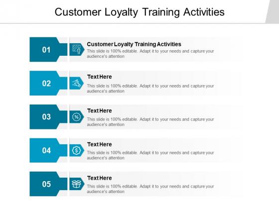 Customer Loyalty Training Activities Ppt PowerPoint Presentation Summary Mockup Cpb