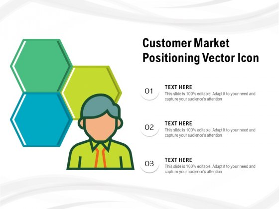 Customer Market Positioning Vector Icon Ppt PowerPoint Presentation Icon Graphics Pictures