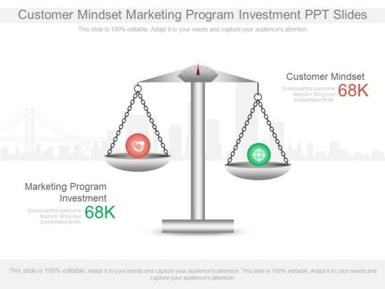 Customer Mindset Marketing Program Investment Ppt Slides