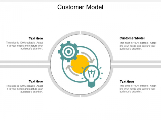 Customer Model Ppt PowerPoint Presentation Show Example Topics Cpb