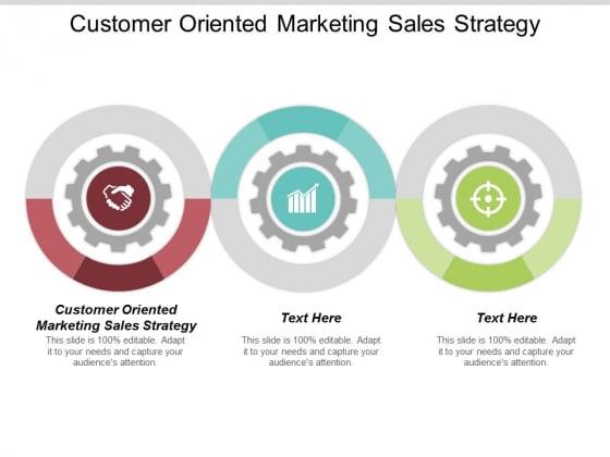 Customer Oriented Marketing Sales Strategy Ppt Powerpoint Presentation Portfolio Gallery Cpb
