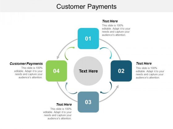 Customer Payments Ppt PowerPoint Presentation Infographics Example Introduction Cpb