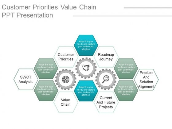 value chain powerpoint templates, slides and graphics, Modern powerpoint