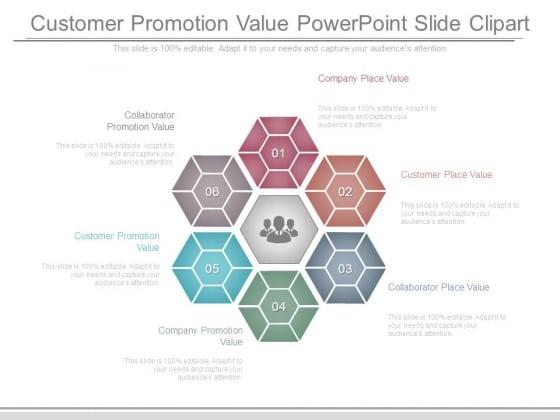 Customer Promotion Value Powerpoint Slide Clipart