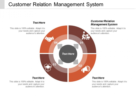 Customer Relation Management System Ppt PowerPoint Presentation Show Layout Ideas Cpb