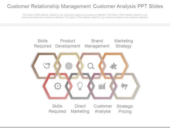 Customer Relationship Management Customer Analysis Ppt Slides