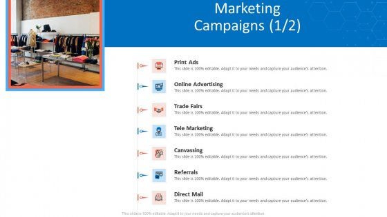 Customer Relationship Management Dashboard Marketing Campaigns Print Topics PDF