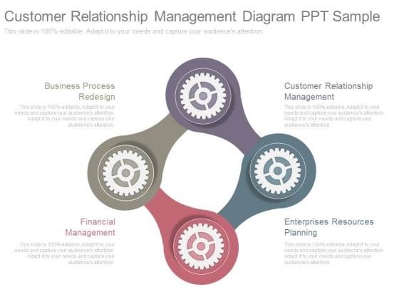 Customer Relationship Management Diagram Ppt Sample