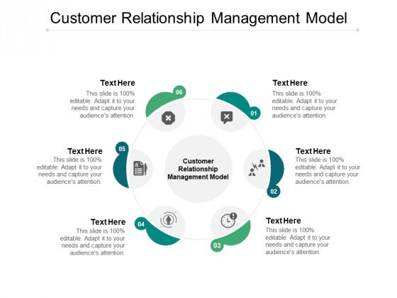 Customer Relationship Management Model Ppt PowerPoint Presentation Show Elements Cpb
