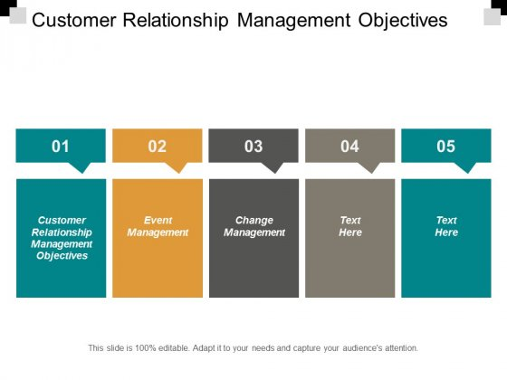 Customer Relationship Management Objectives Event Management Change Management Ppt PowerPoint Presentation Pictures Ideas