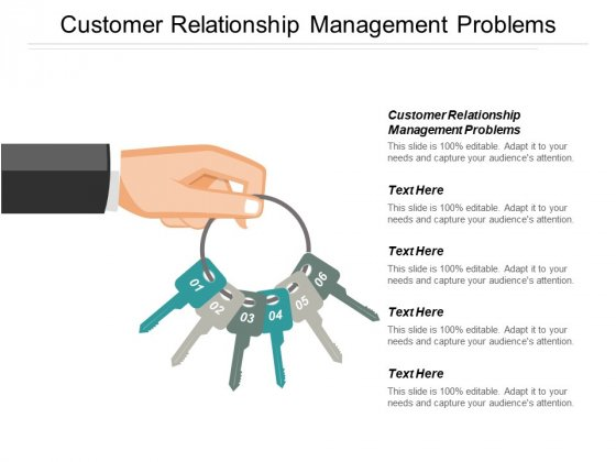 Customer Relationship Management Problems Ppt PowerPoint Presentation Portfolio Information Cpb