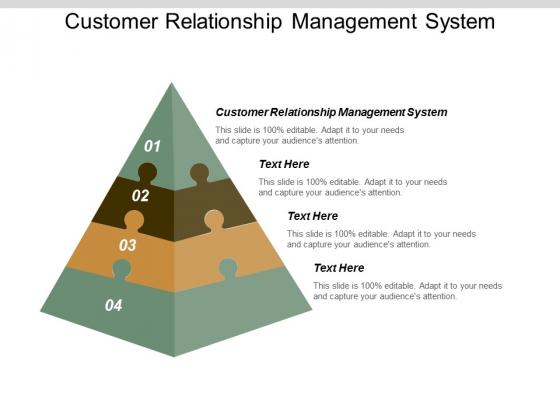 Customer Relationship Management System Ppt Powerpoint Presentation Ideas Slideshow Cpb