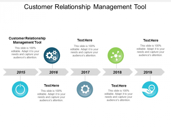 Customer Relationship Management Tool Ppt Powerpoint Presentation Styles Objects Cpb