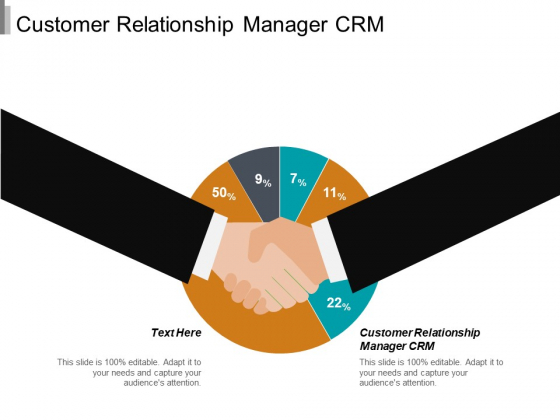 Customer Relationship Manager CRM Ppt PowerPoint Presentation Portfolio Outline Cpb