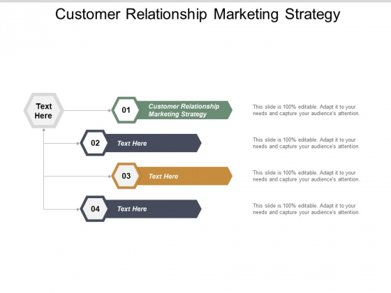 Customer Relationship Marketing Strategy Ppt PowerPoint Presentation Slides Backgrounds Cpb