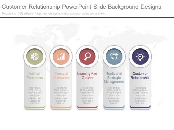 Customer Relationship Powerpoint Slide Background Designs
