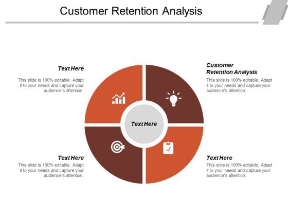 Customer Retention Analysis Ppt Powerpoint Presentation Icon Tips Cpb