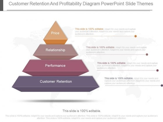 Customer Retention And Profitability Diagram Powerpoint Slide Themes