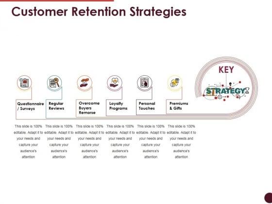 Customer Retention Strategies Ppt PowerPoint Presentation Icon