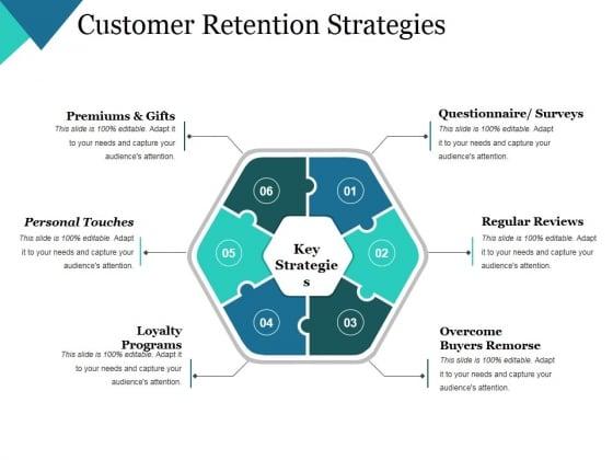 Customer Retention Strategies Ppt PowerPoint Presentation Slides Visuals