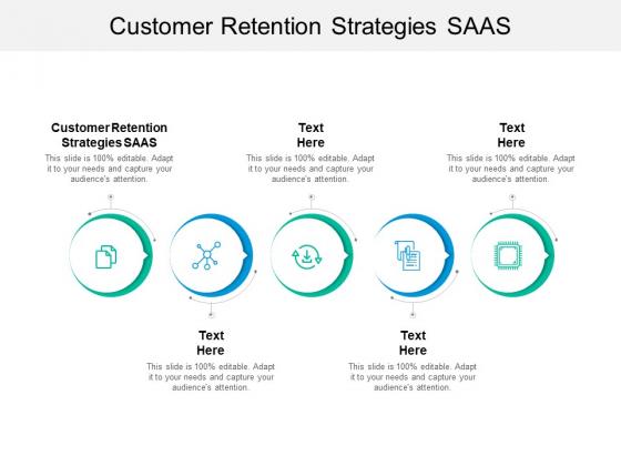 Customer Retention Strategies Saas Ppt PowerPoint Presentation Layouts Ideas Cpb