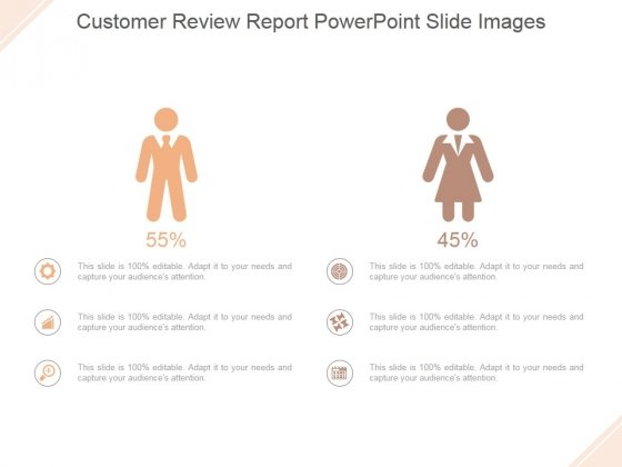 Customer Review Report Ppt PowerPoint Presentation Slide Download