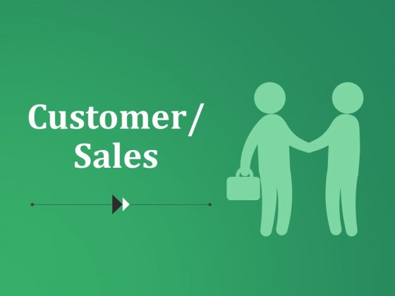 Customer Sales Ppt PowerPoint Presentation Layouts Graphics Template