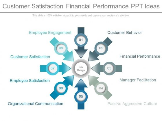 Customer Satisfaction Financial Performance Ppt Ideas