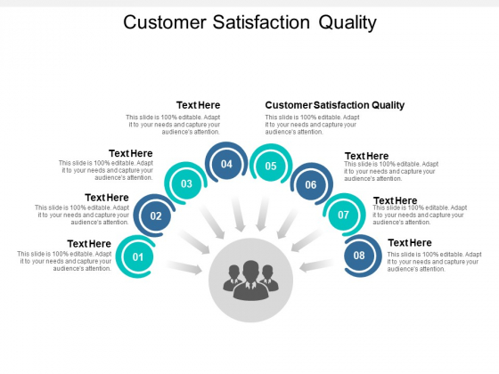 Customer Satisfaction Quality Ppt PowerPoint Presentation Professional Brochure Cpb