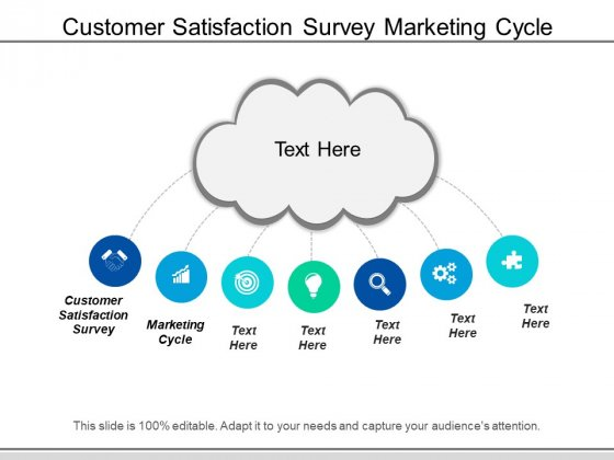 Customer Satisfaction Survey Marketing Cycle Ppt PowerPoint Presentation Gallery Deck