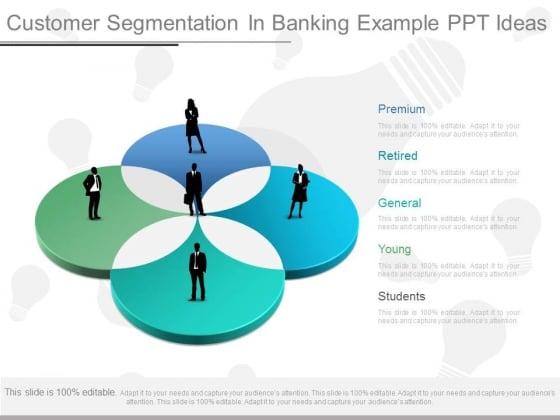 Customer Segmentation In Banking Example Ppt Ideas