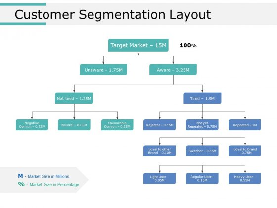 Customer Segmentation Layout Ppt PowerPoint Presentation Portfolio Sample