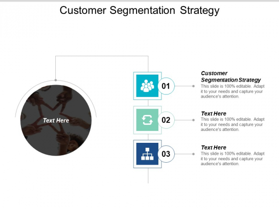 Customer Segmentation Strategy Ppt Powerpoint Presentation Model Graphics Tutorials Cpb